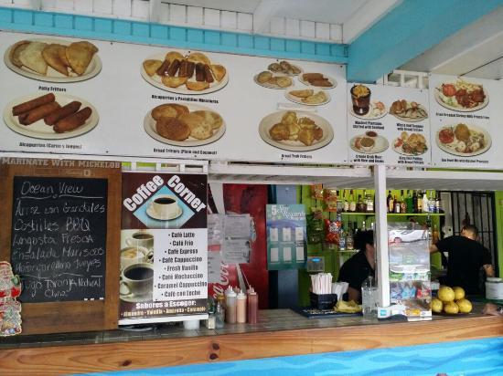 Menu Picture Of Ocean View Restaurant Fajardo Tripadvisor