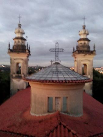 Mosteiro de Itaici: Vista do Mirante.