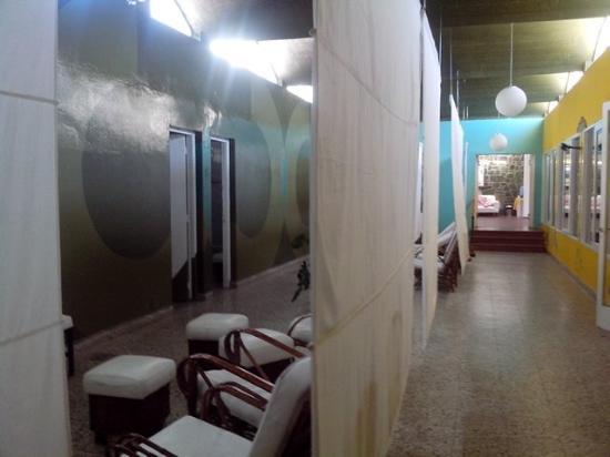 Hotel Termas Pismanta & Spa: Visão geral das salas de banhos termais