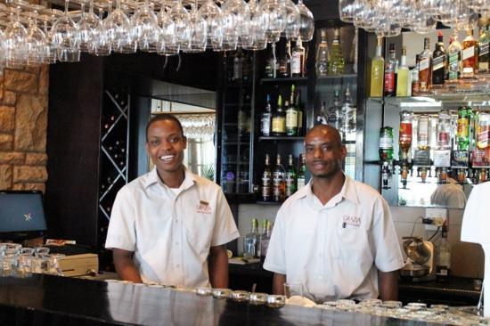 Grazia Fine Food & Wine: service with a smile