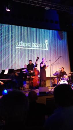 Budapest Jazz Club : На концерте в Джаз клубе.