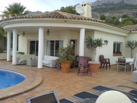 Villa Altea, a part taken from the terrace