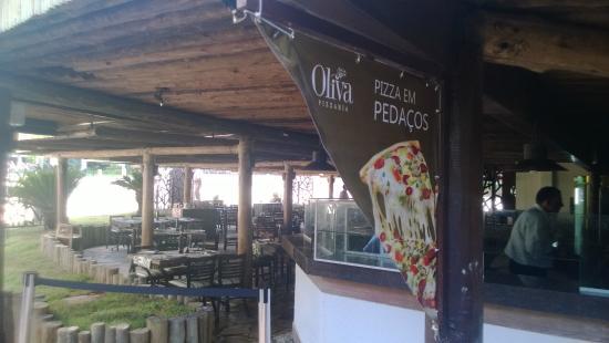 Pizzaria Oliva. Acesso exclusivo para hospedes dos hotéis Rio Quente Resort