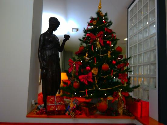 Hotel Al Fogher: christmas tree