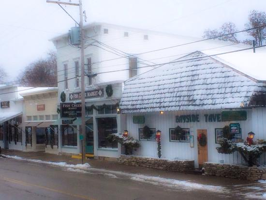 Bayside Tavern in the heart of Fish Creek