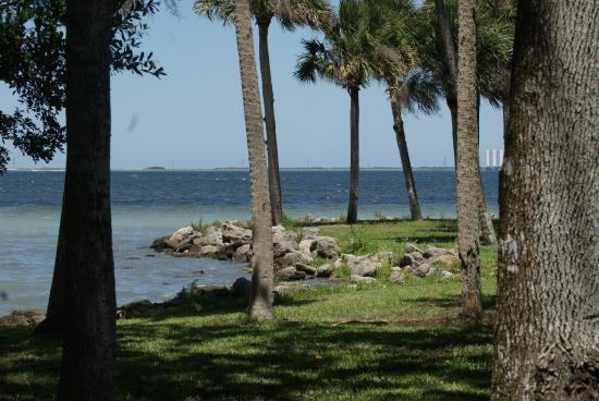 Manatee Hammock Campground view