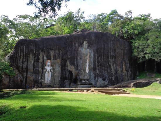 Buduruwagala Temple: The temple