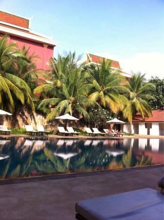 Lotus Blanc Resort: Lotus blanc swimming pool