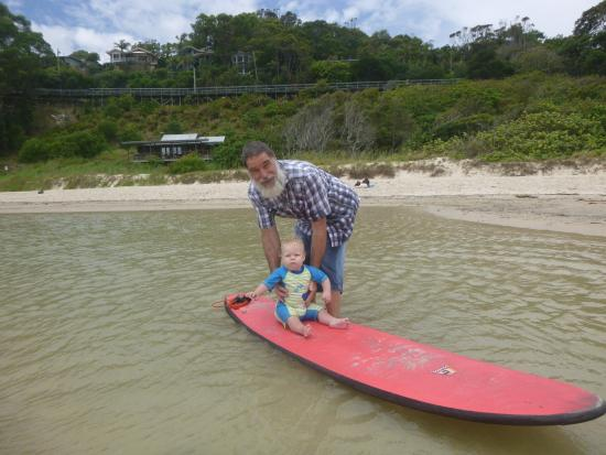 Byron Bay Style Surfing School: time for the youngest to enjoy
