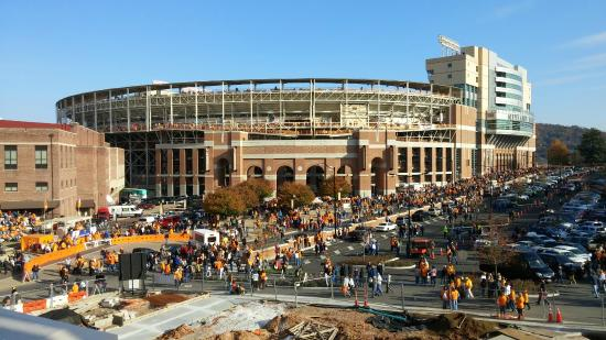 University of Tennessee : Outside Neyland Stadium