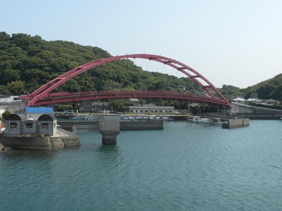 Nagasaki Prefecture, Japón: 口之津港付近