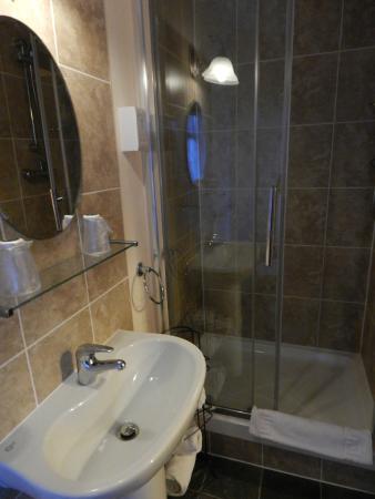Brookside Hotel: Clean bathroom