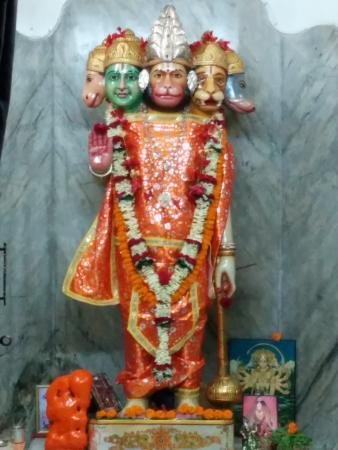 Ram Mandir, Bhubaneswar: Hanuman Shrine