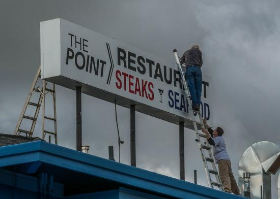 The Point Waterfront Restaurant: The Point Restaurant is reopened!!!