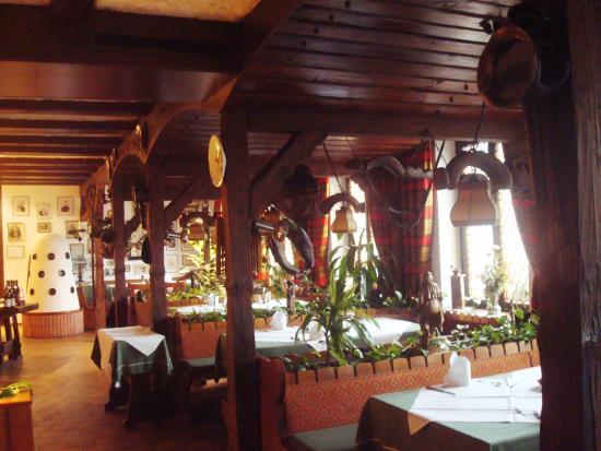 Hotel zum weyßen Rößle: salle à manger
