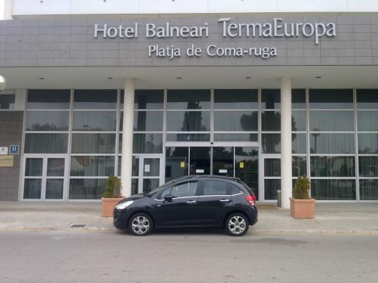 Hotel Balneario TermaEuropa Playa Coma-Ruga: puerta principal