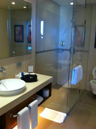 Bathroom, suite 2101, Staybridge Suites Beirut
