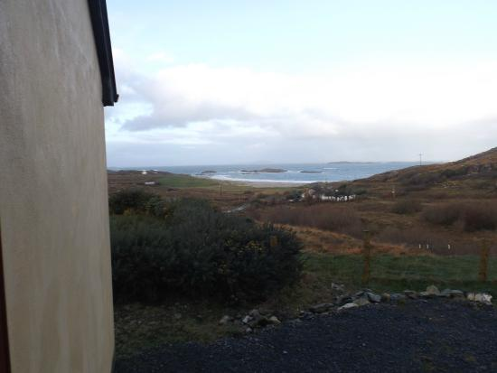 Ard Na Mara Beach Cottage: For thing you see as you go outside!!