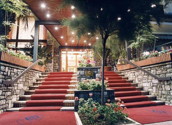 Grand Hotel Tamerici & Principe : Ingresso