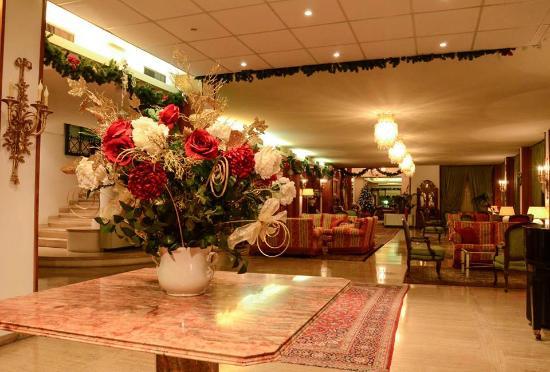 Grand Hotel Tamerici & Principe : Salone a Natale