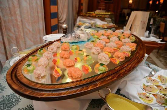Grand Hotel Tamerici & Principe : Buffet