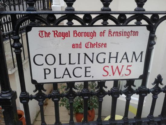 Westbury Hotel Kensington: strada hotel