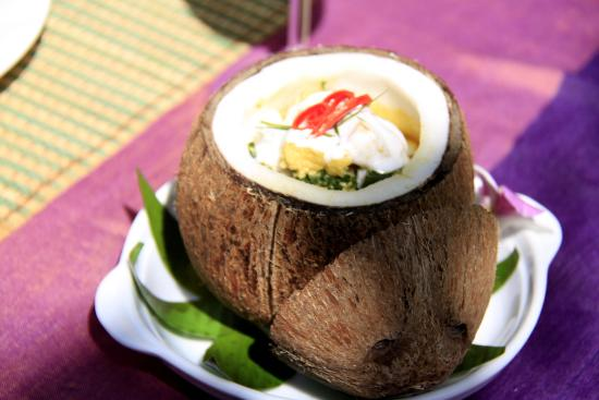 Boutique Cambo Hotel: khmer food