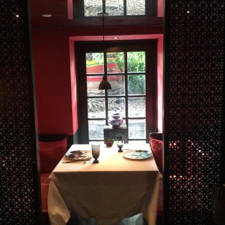 The China House at Mandarin Oriental, Bangkok: An elegant table