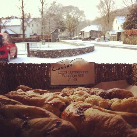 Lucia's : Snow in Grasmere