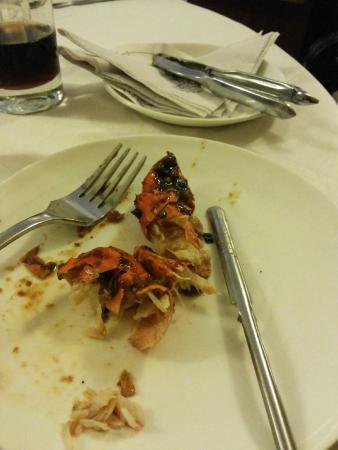 Tunga Paradise Hotel: Chili Crab