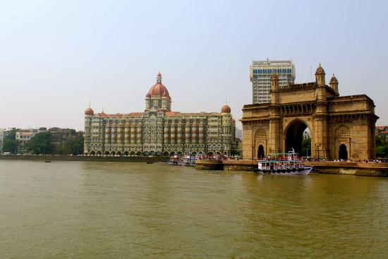 The Taj Mahal Palace: Taj from the Boat