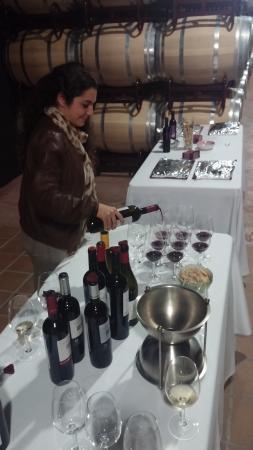 Bodegas Enrique Mendoza: Susana, guia profesional y amable