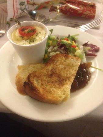 Hotel Buckerell Lodge: Chicken Pate