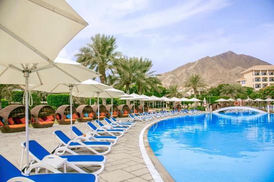 Swimming Pool Picture Of Fujairah Rotana Resort Spa Al Aqah Beach Al Aqah Tripadvisor