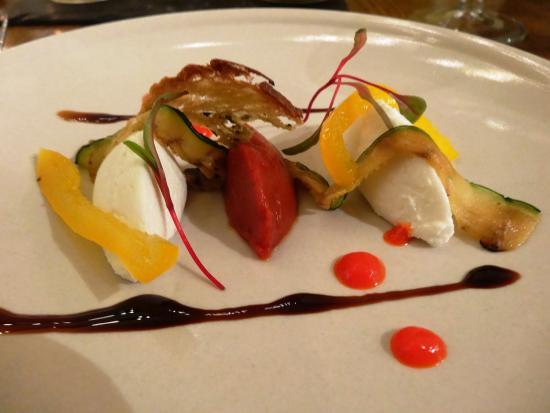 The Eastbury Hotel: Goats Curds - taster menu