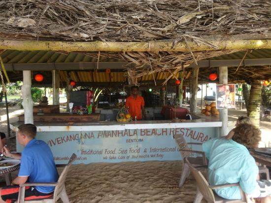Awanhala Beach Restaurant Bungalow Bar And