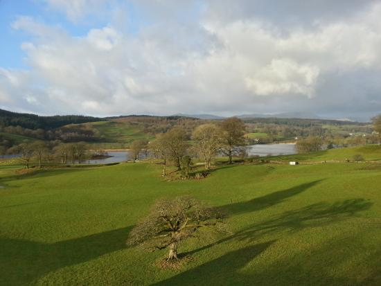 Ees Wyke Country House: view from our bedroom.