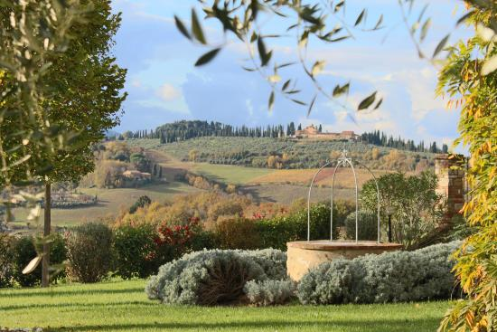Country House Croce di Bibbiano: panorama