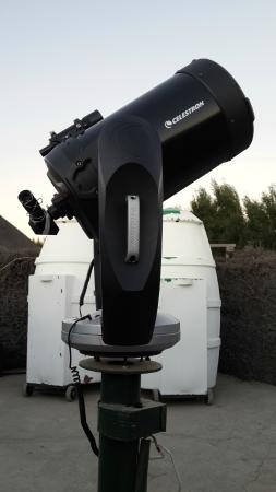 Sutherland, Южная Африка: One of 5 telescopes used in the evenings presentations and sightings