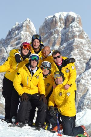 Cortina Dolomiti Ski School: Under the mountain