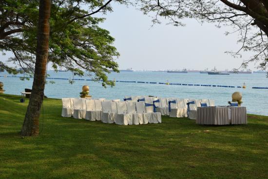 Shangri Las Rasa Sentosa Resort Spa Wedding By