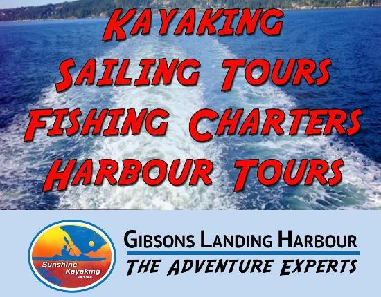 "Sunshine Kayaking & Sailing Ltd - Day Tours: The ""Adventure Experts"""