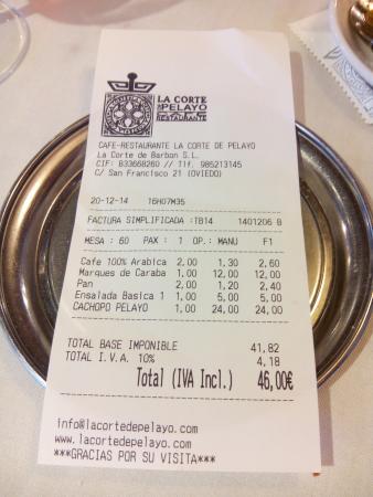 Foto de la corte de pelayo oviedo factura para dos for Jacuzzi para dos personas