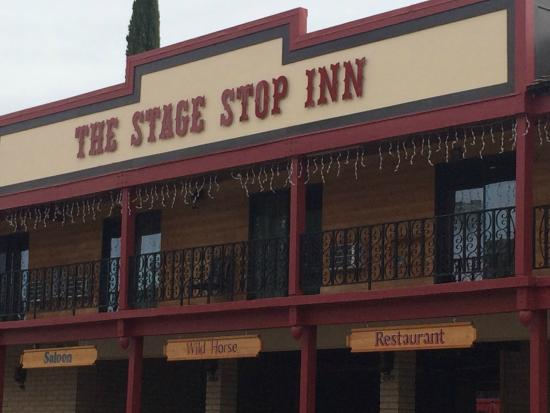 Stage Stop Inn Hotel Front
