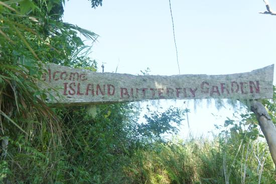 Siquijor Butterfly Sanctuary : Eingang