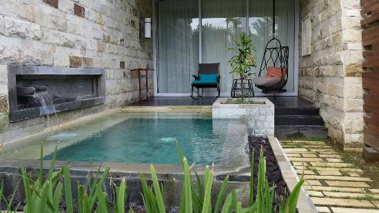 plunge pool of our room picture of sofitel bali nusa dua beach resort nusa dua tripadvisor. Black Bedroom Furniture Sets. Home Design Ideas
