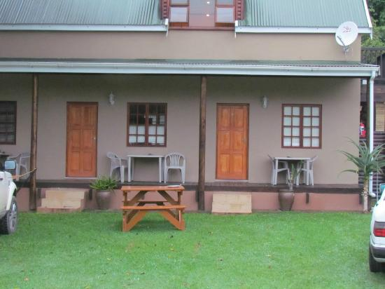 Port St John's River Lodge : View of some of the accommodation