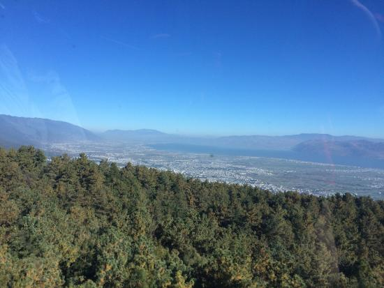 Mt.Cangshan and Erhai Lake Scenic Resort : View from Walking Route