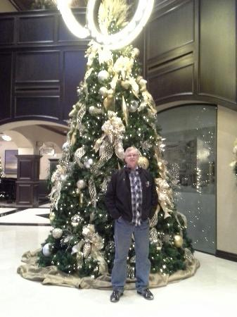 the artesian hotel casino spa beautiful christmas tree