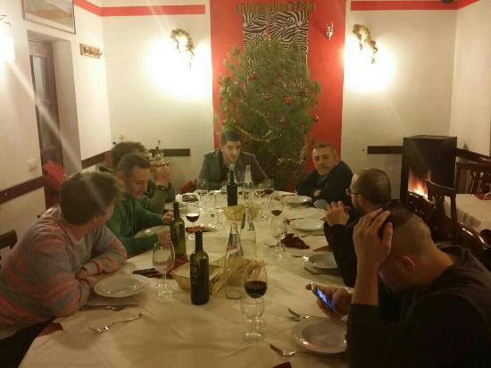 Trattoria Pizzeria da Franchina: Cena GLADIO X LEGIO.  buon natale!